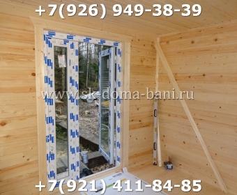 Баня-сухой брус-под ключ-с печкой-цена-фото 100