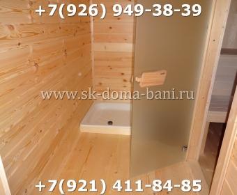 Баня-сухой брус-под ключ-с печкой-цена-фото 102