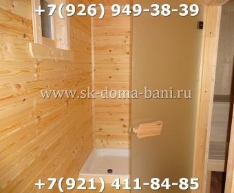 Баня-сухой брус-под ключ-с печкой-цена-фото 103