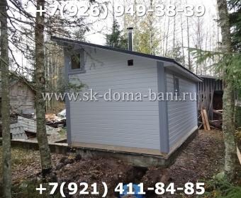 Баня-сухой брус-под ключ-с печкой-цена-фото 125