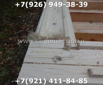 Баня-сухой брус-под ключ-с печкой-цена-фото 16