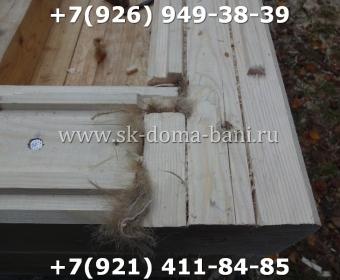 Баня-сухой брус-под ключ-с печкой-цена-фото 18