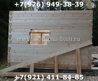 Баня-сухой брус-под ключ-с печкой-цена-фото 33