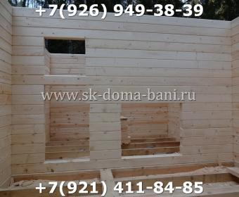 Баня-сухой брус-под ключ-с печкой-цена-фото 37