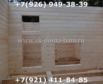 Баня-сухой брус-под ключ-с печкой-цена-фото 38
