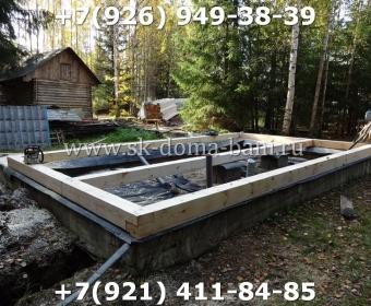 Баня-сухой брус-под ключ-с печкой-цена-фото 4