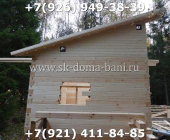 Баня-сухой брус-под ключ-с печкой-цена-фото 43