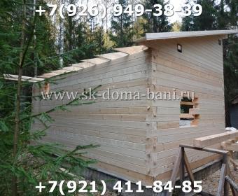 Баня-сухой брус-под ключ-с печкой-цена-фото 56