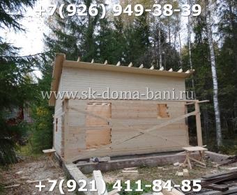 Баня-сухой брус-под ключ-с печкой-цена-фото 58