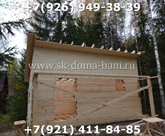 Баня-сухой брус-под ключ-с печкой-цена-фото 59
