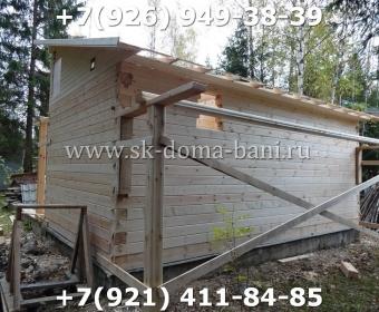 Баня-сухой брус-под ключ-с печкой-цена-фото 61