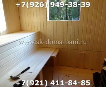 Баня-сухой брус-под ключ-с печкой-цена-фото 75