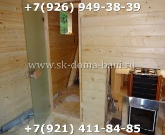Баня-сухой брус-под ключ-с печкой-цена-фото 77