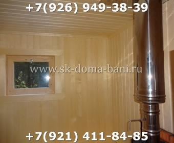 Баня-сухой брус-под ключ-с печкой-цена-фото 93