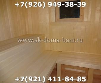 Баня-сухой брус-под ключ-с печкой-цена-фото 94