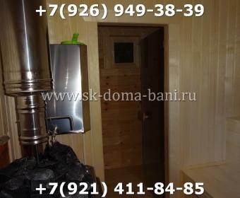 Баня-сухой брус-под ключ-с печкой-цена-фото 96