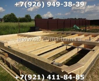 Построить баню из сухого профилированного бруса 24