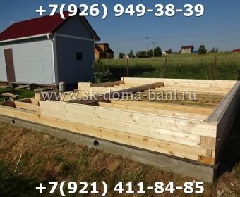 Построить баню из сухого профилированного бруса 29