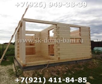 Построить баню из сухого профилированного бруса 41