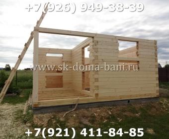 Построить баню из сухого профилированного бруса 42