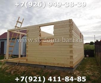 Построить баню из сухого профилированного бруса 45