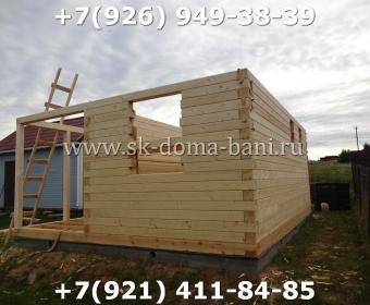 Построить баню из сухого профилированного бруса 46
