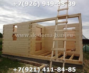 Построить баню из сухого профилированного бруса 49