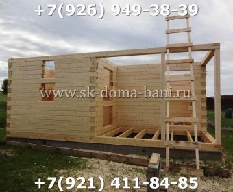 Построить баню из сухого профилированного бруса 51